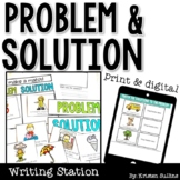 Problem and Solution Writing Station