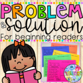 Problem and Solution {for beginning readers} | Distance Learning