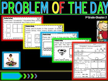 "Problem of Day Math Journal ""Go Math"" Ch. 2"
