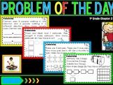 """Problem of Day Math Journal """"Go Math"""" Ch. 3"""