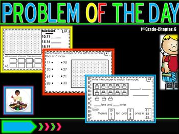 "Problem of Day  ""Go Math"" Ch. 6"