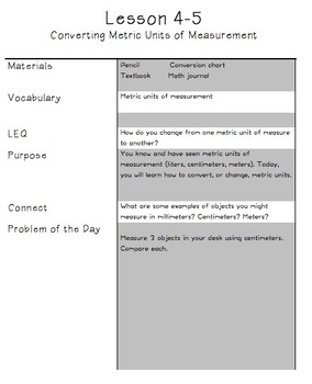 Problem of Day Template - enVISION Math Common Core