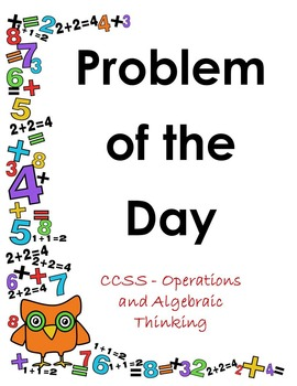 Problem of The Day - Operations and Algebraic Thinking