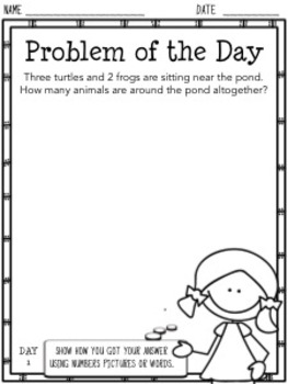 Problem of the Day (2nd Grade)
