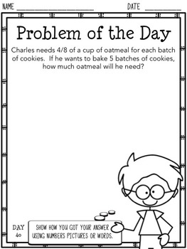 Problem of the Day (4th Grade)