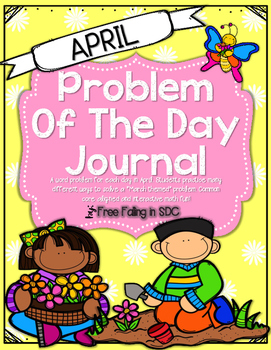 Problem of the Day-APRIL (daily math word problem practice)