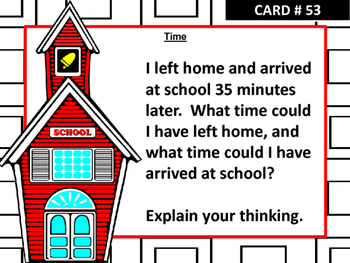 Problem of the Day Activity Cards FREEBIE