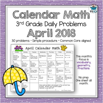 Problem of the Day: April