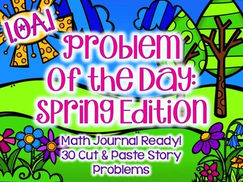 Spring Math Problem of the Day: First Grade