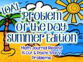 Summer Math Problem of the Day: First Grade