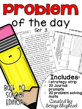 Problem of the Day - Back to School edition