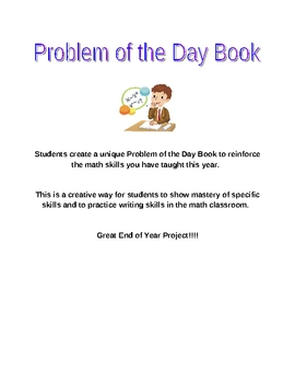 Problem of the Day Book Project