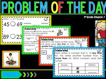 "Problem of the Day Ch. 7 ""Go Math"""