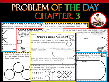 Problem of the Day Chapter 3 2nd Grade