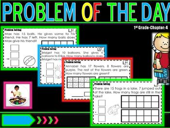 "Problem of the Day Chapter 4 ""Go Math"""