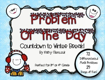 Problem of the Day -- Countdown to Winter Break! (Advent C