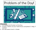 Problem of the Day Cover