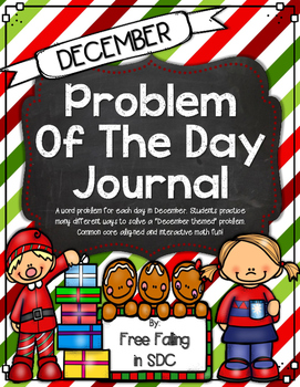 Problem of the Day-DECEMBER (daily math word problem practice)