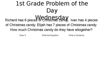 Problem of the Day Math Routine