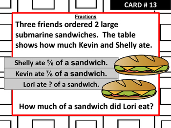 Problem of the Day Activity Cards