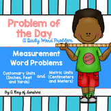 Measurement Word Problems {Problem of the Day}