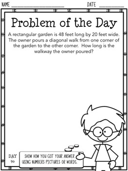 Problem of the Day (Middle School)