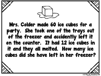 Problem of the Day {More 2-Digit and 3-Digit Addition and Subtraction}