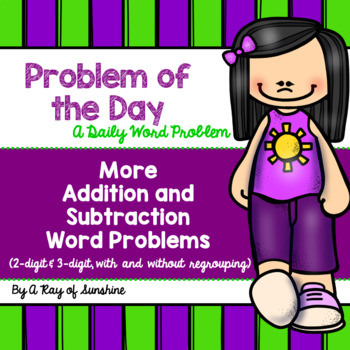 Problem of the Day {More 2-Digit and 3-Digit Addition and