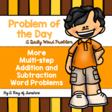More Multi-step Addition and Subtraction Word Problems {Pr