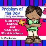 Multi-step Addition and Subtraction Word Problems {Problem of the Day}