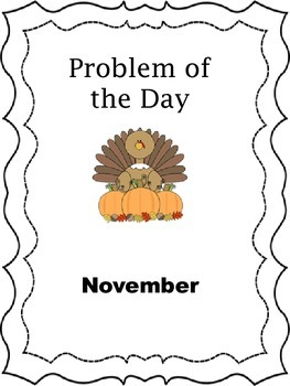 Problem of the Day - November