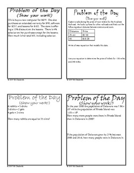 Problem of the Day  Series 3