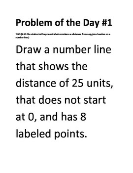 Math Problem of the Day- TEKS 2.9 Measurement (5 days)