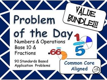 Problem of the Day Value Bundle Word Problems for the Middle Grades