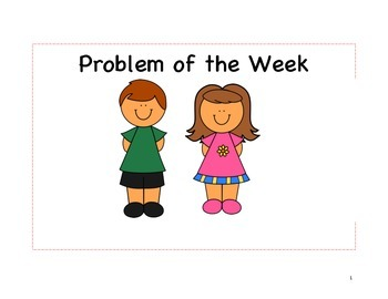 Problem of the Day/Week