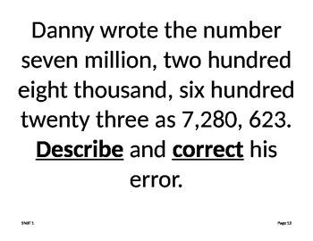 Go Math Problem of the Week  Grade 5