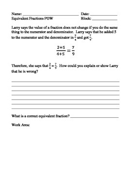 Problem of the Week/Day for 4th grade Math