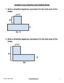 Problem set: Simplify algebraic compound areas - No expone
