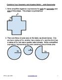 Problem set: Simplify algebraic compound areas - With expo