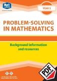 Problem-solving — Background information and resources — Year 1 ebook