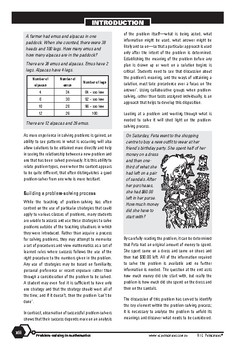 Problem-solving — Background information and resources — Year 3 ebook
