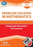 Problem-solving — Background information and resources — Y