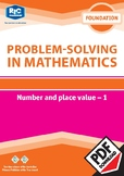 Problem-solving — Number and Place Value 1 — Foundation Ebook