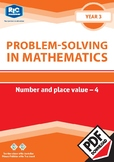 Problem-solving — Number and Place Value 4 — Year 3 ebook