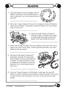 Problem-solving — Number and Place Value 5 — Year 3 ebook