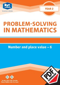 Problem-solving — Number and Place Value 6 — Year 2 ebook