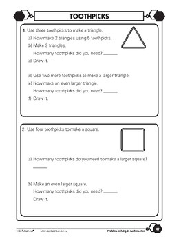 Problem-solving — Shape, Location and Transformation 2 — Year 2 ebook
