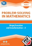 Problem-solving — Shape, Location and Transformation 2 — Y