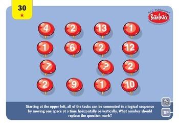 Problem solving in Mathematics sample cards BRAINSNACK 100