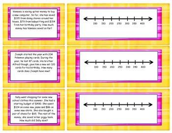 Problem solving on a number line